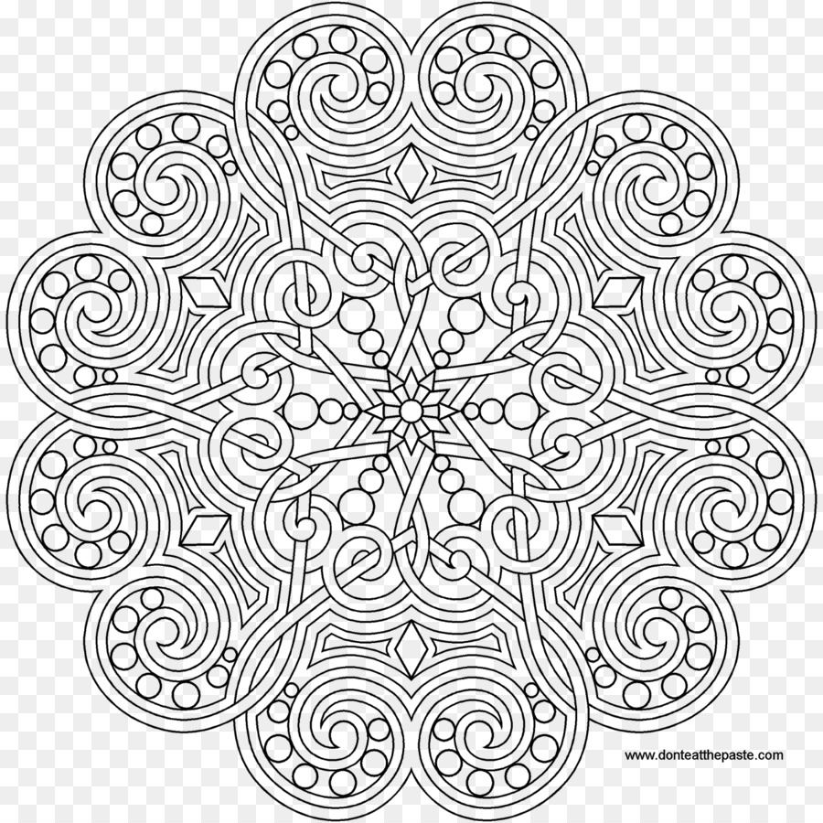 Mandala Coloring book Creative Coloring Flowers: Art Activity Pages ...