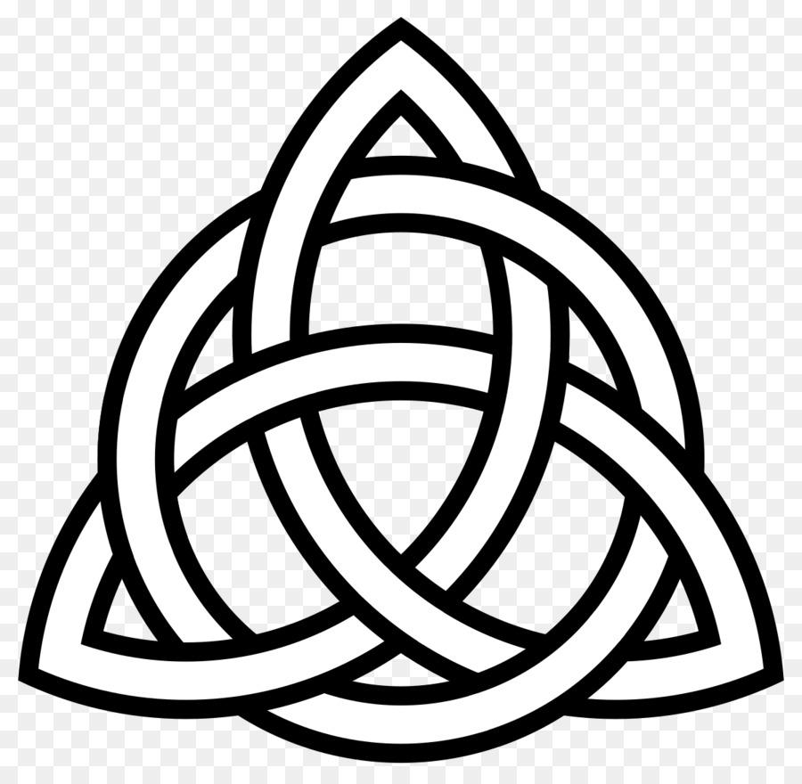Celtic Knot Triquetra Celts Art Clip