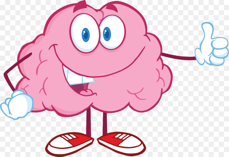 Brain Cartoon Clip Art Brain Png Download 4000 2755