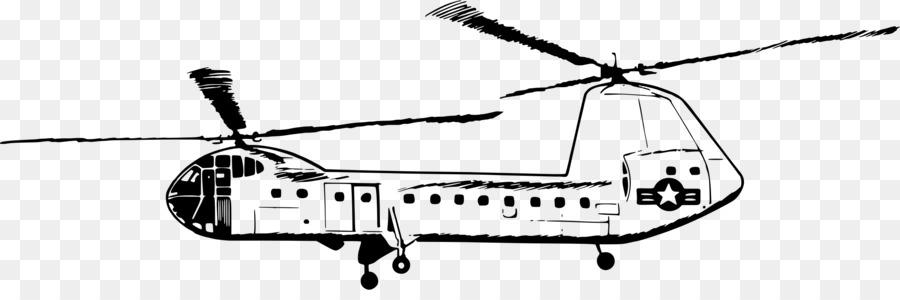 Helikopter Buku Mewarnai Gambar Pesawat Boeing Ch 47 Chinook Pesawat