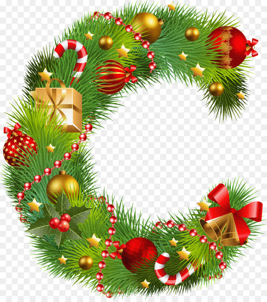 Christmas ornament Christmas decoration Letter - G png download ...