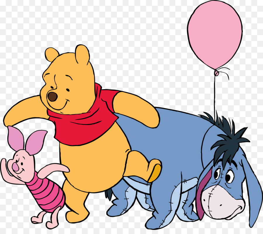 356a10b48e0d Eeyore Winnie the Pooh Piglet Tigger Rabbit - winnie pooh png download -  2354 2055 - Free Transparent png Download.