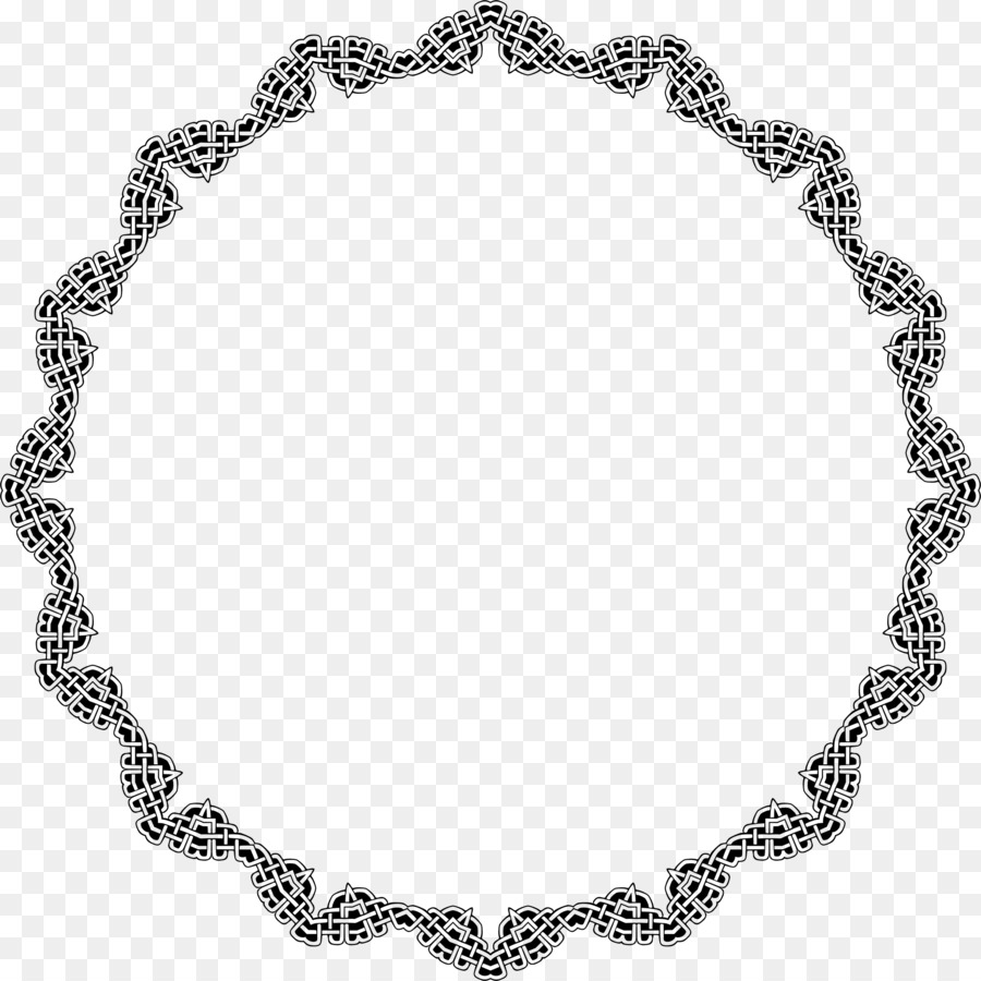 Earring Bracelet Jewellery Necklace Silver - circle frame png ...