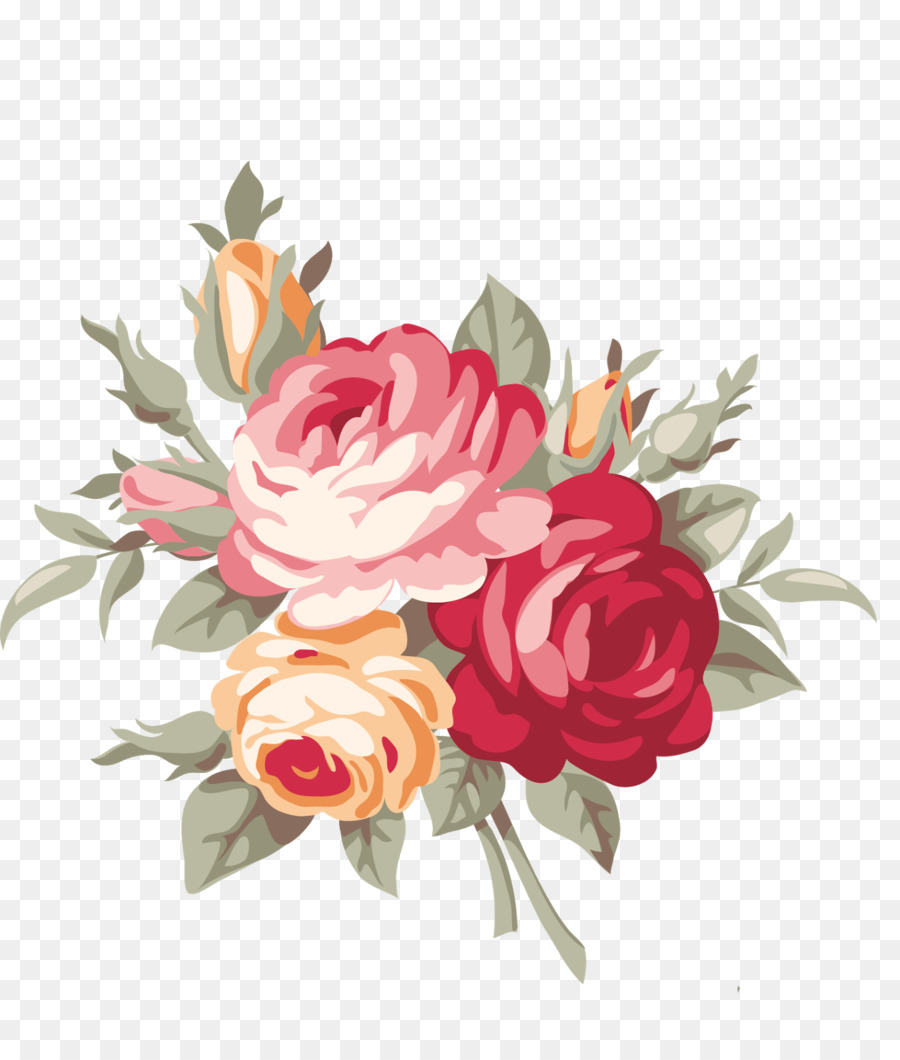 Flower Floral Design Royalty Free Floral Frame Png Download 1364