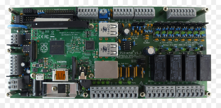 Raspberry Pi Programmable Logic Controllers CODESYS Printed circuit ...