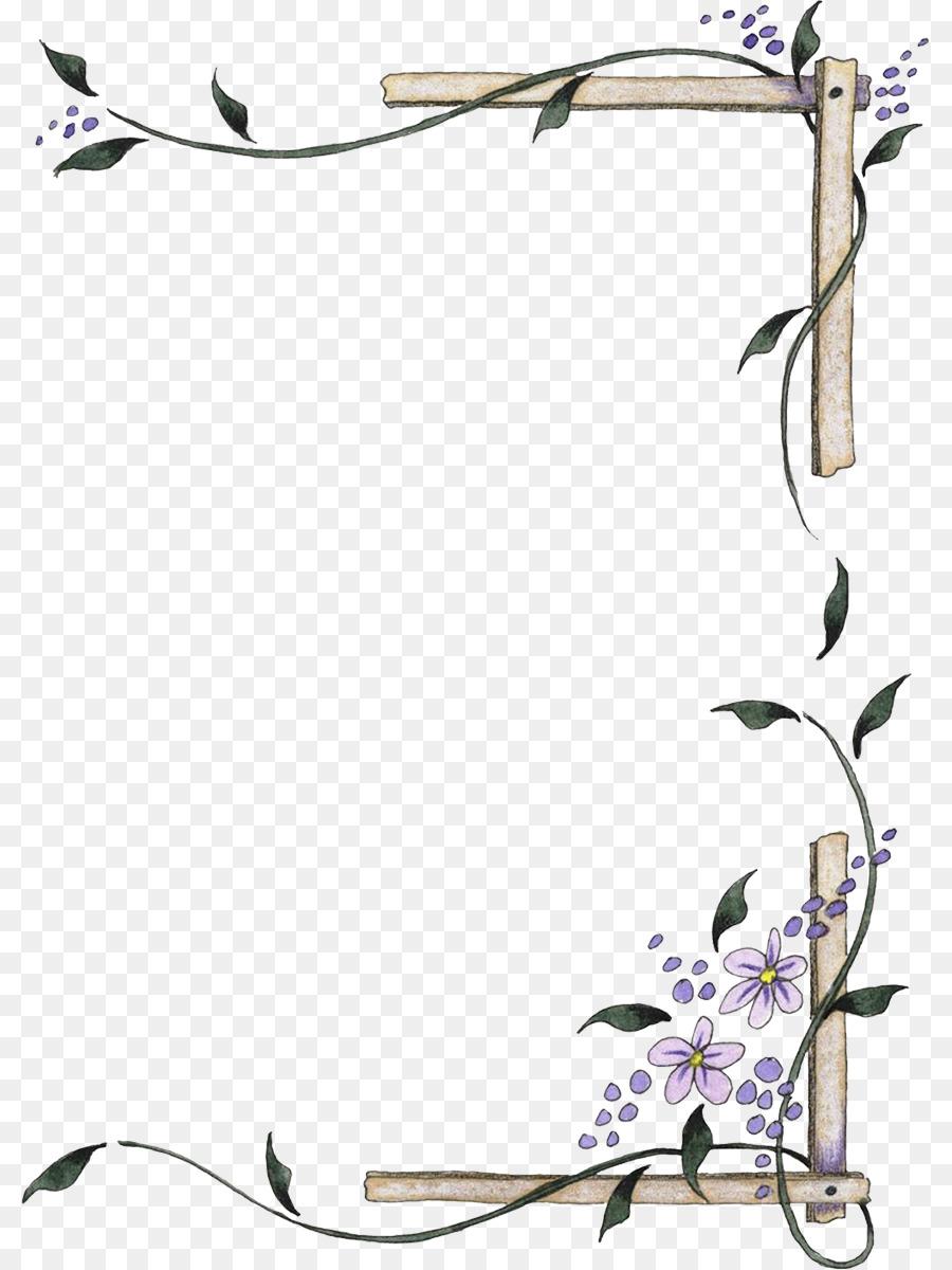 Paper Drawing Papel de carta Picture Frames - angel border png ...