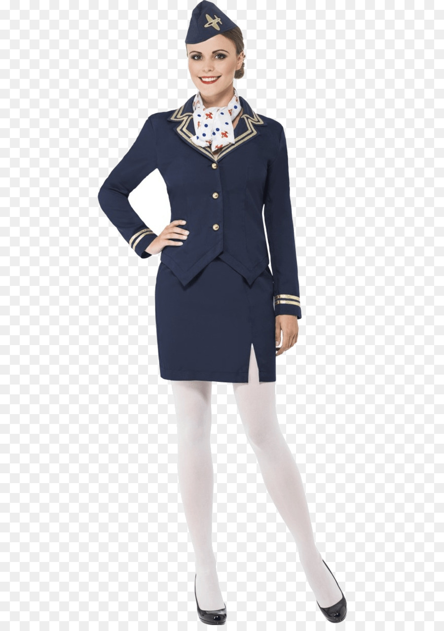 Airplane Costume Party Flight Attendant Clothing Uniform Png