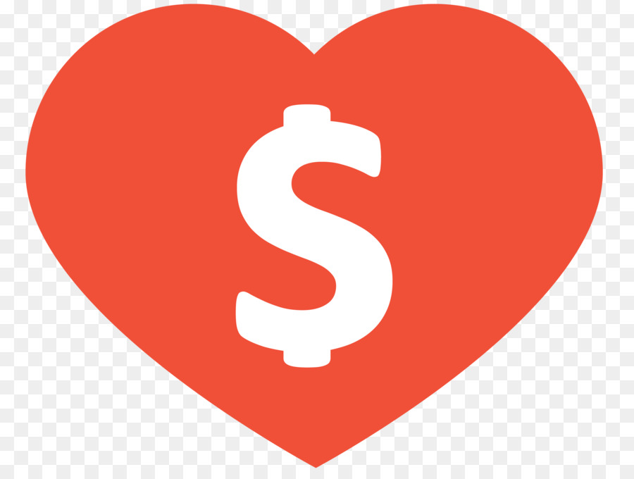 Heart Dollar Sign United States Dollar Currency Symbol United States