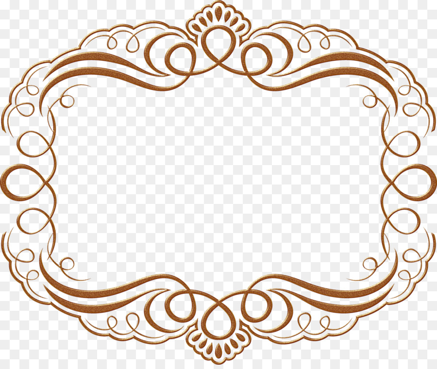 Picture Frames Graphic Frames Clip art - brown frame png download ...