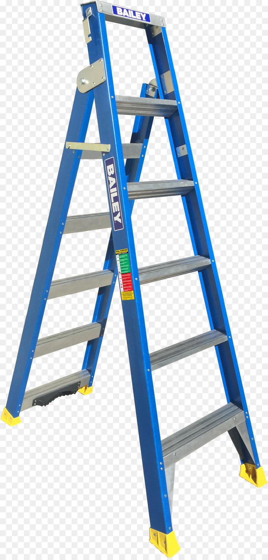Ladder Tool Fiberglass A-frame Aluminium - ladder png download ...