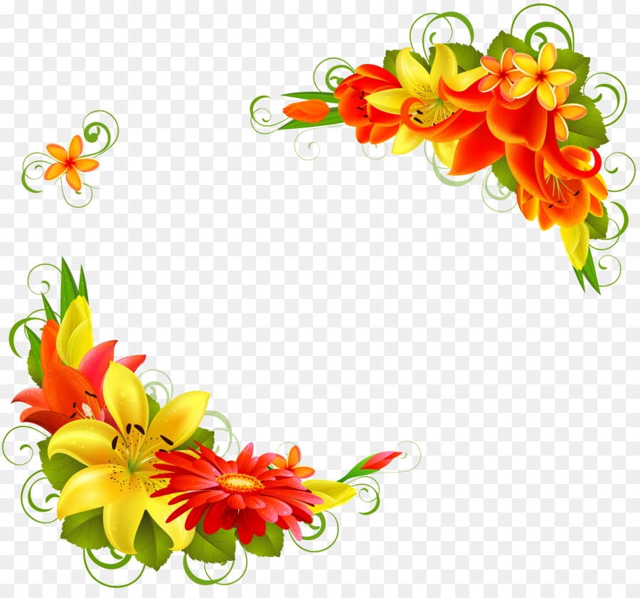 Greeting Note Cards Flower Birthday Clip Art Ros Png Download