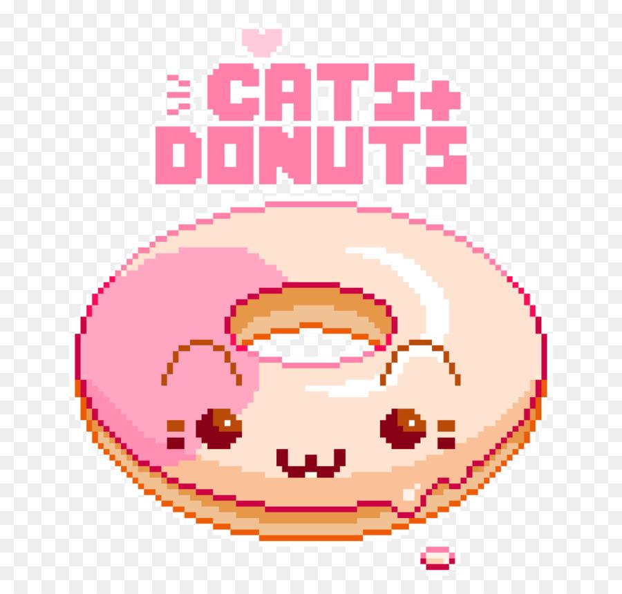 Donuts Pixel Art Breakfast Jelly Doughnut