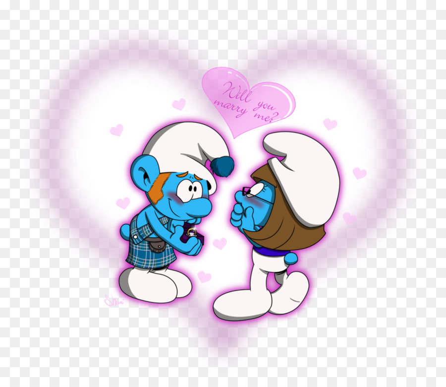 Smurfette Art Vexy The Smurfs Gutsy Smurf Smurfs Png Download