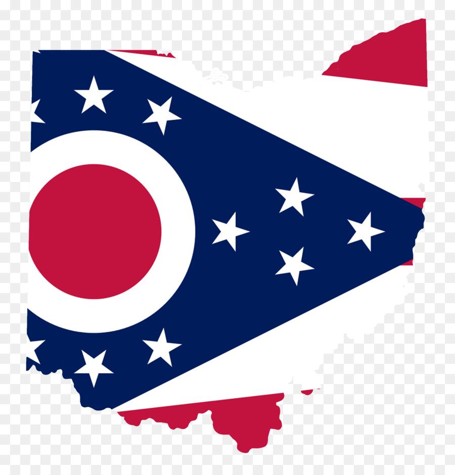 Bandera del Estado de Ohio de la bandera de la Bandera de Dakota del ...