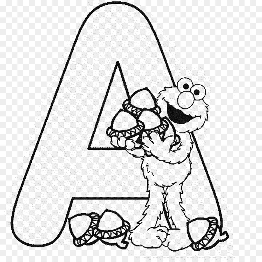 Elmo Coloring book Alphabet Letter Child - child png download - 2000 ...