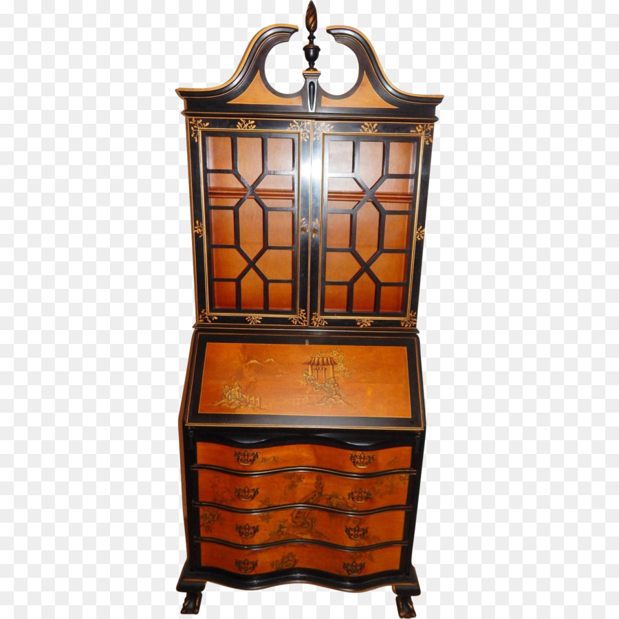Table Furniture Chinese Chippendale Chinoiserie Secretary Desk   Chinoiserie