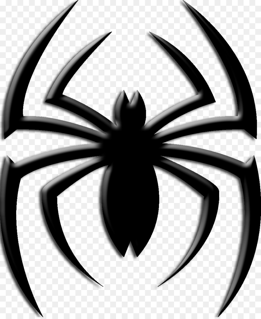 Ultimate Spider Man Venom Logo Spider Web Png Download 9671175