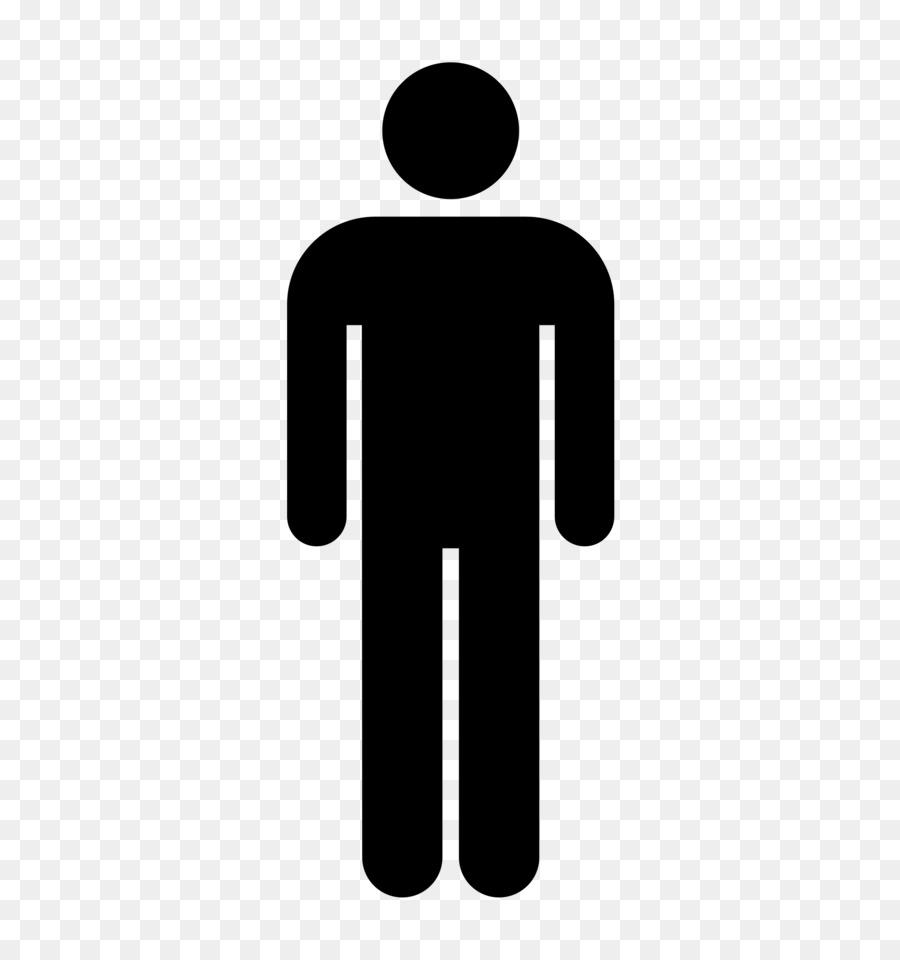 Gender Symbol Public Toilet Bathroom Male