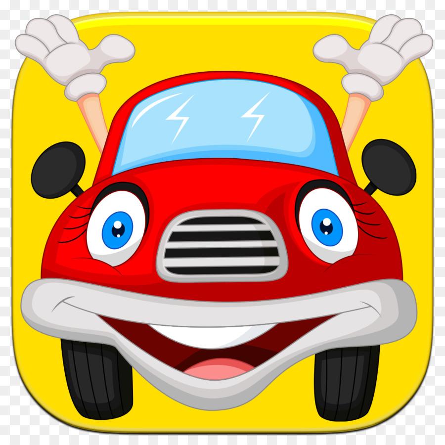 dos desenhos animados livre de royalties carro de desenho