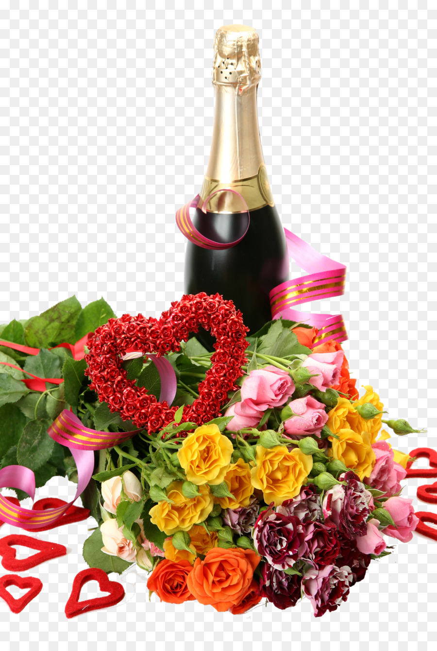 Happy Birthday To You Wish Holiday Champagne Png Download 1089