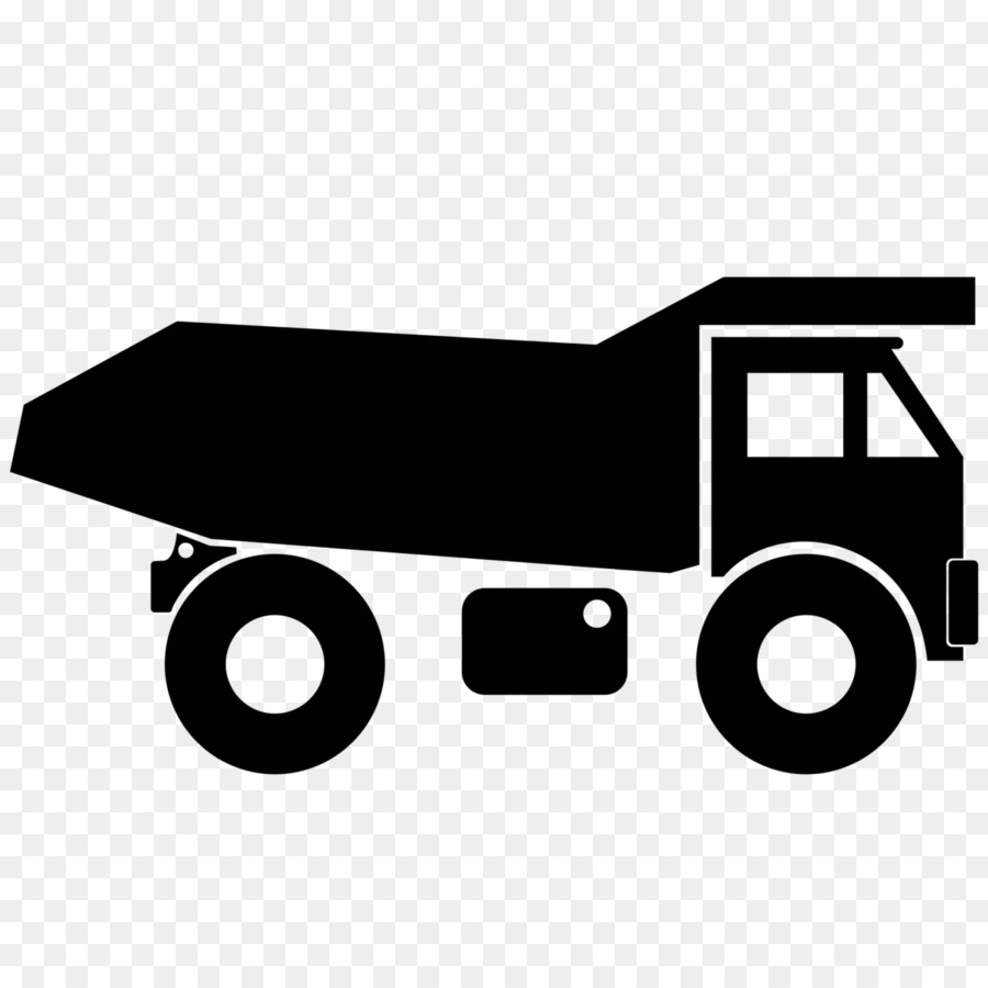Dump truck garbage truck truck angle black png