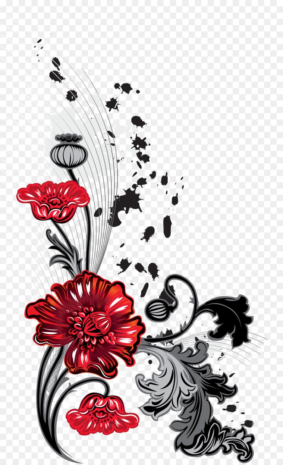 Desktop Wallpaper Animation - flower ornaments png download - 1452 ...