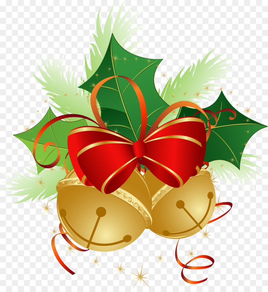 Santa Claus Christmas Card Clip Art Bell Png Download 36543940