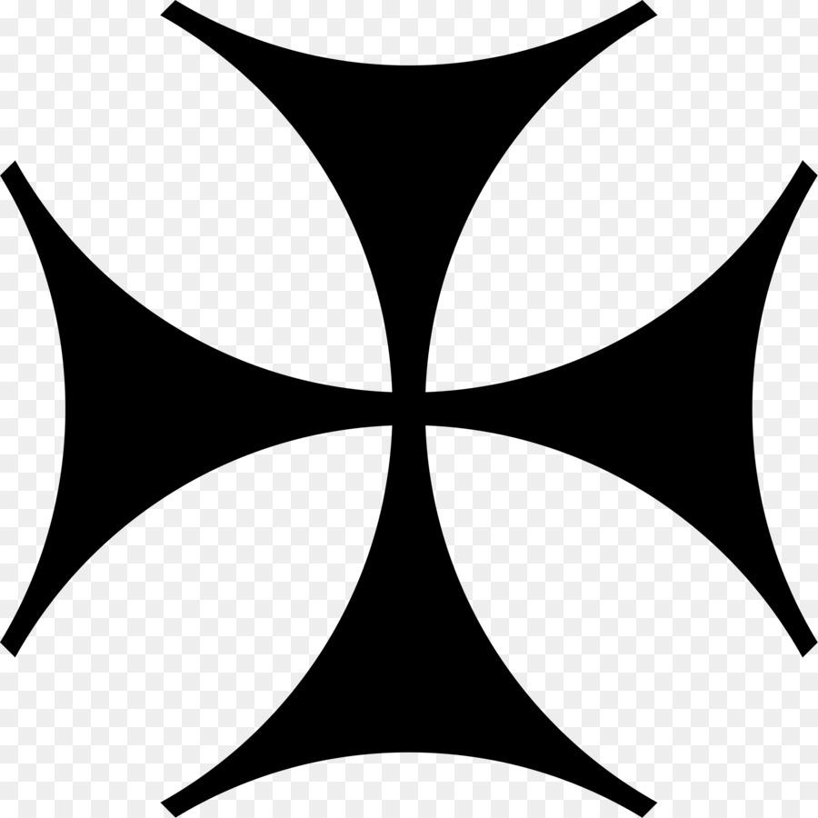 Crusades Symbol Cross Knights Templar X Png Download 23772377