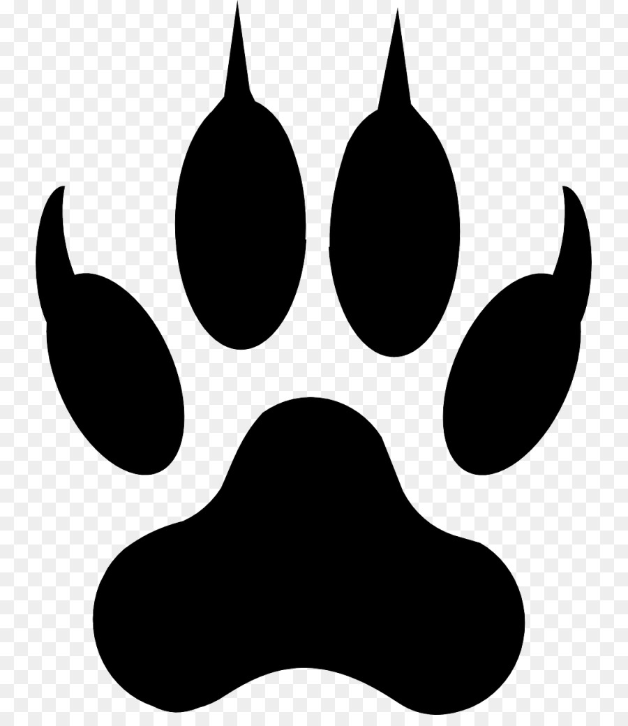 dog cat paw coyote clip art paw prints png download 797 1024 rh kisspng com clipart cat paw print cat paw print clip art free