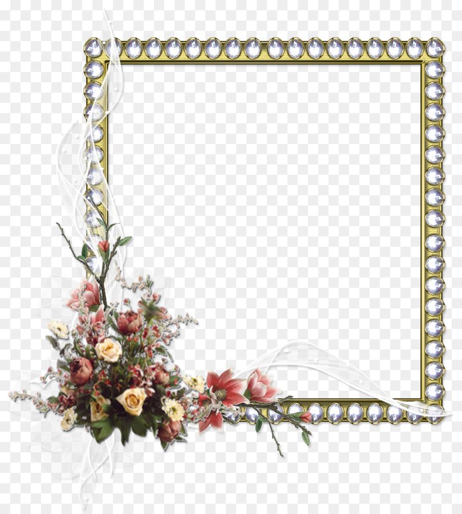 Marcos PhotoScape Flor - marco rojo Formatos De Archivo De Imagen ...