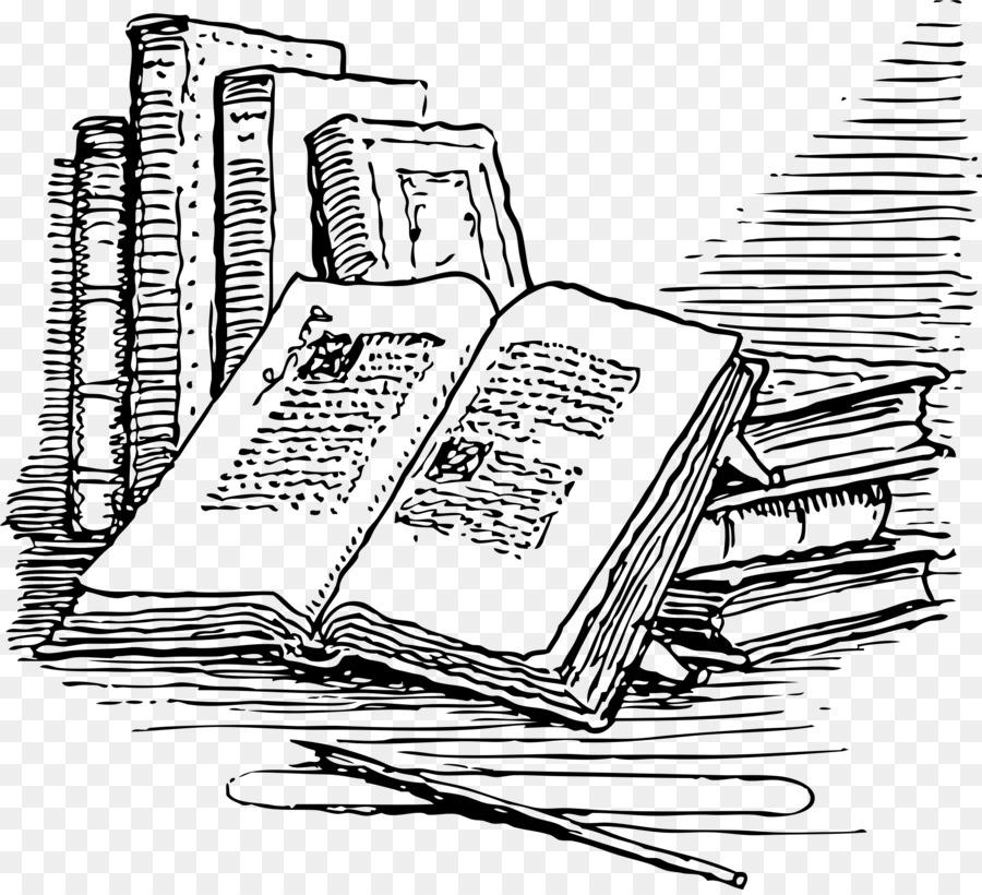Book Illustration Drawing Clip Art
