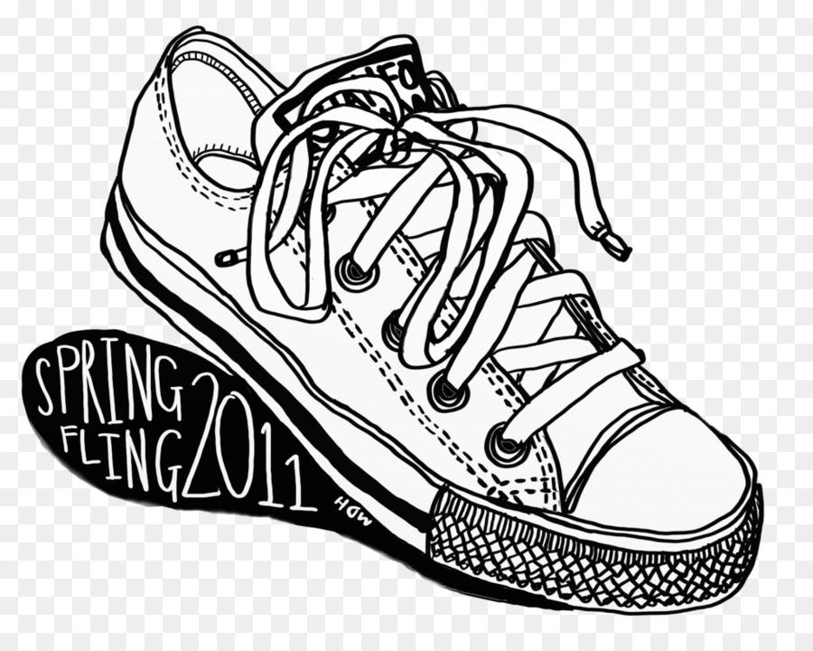 Zapatillas de deporte T-shirt Conversar Dibujo de Zapatos - zapatos ...