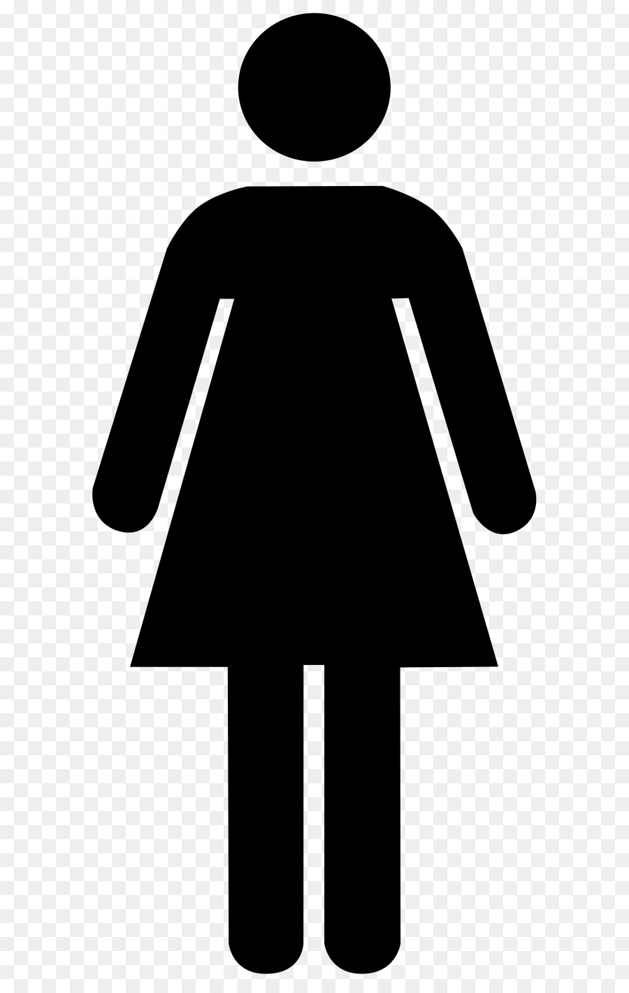 Public Toilet Gender Symbol Bathroom Female Female Student Png