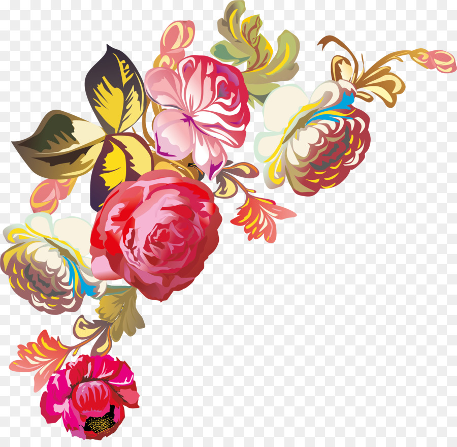 Flower Bouquet Floral Design Nosegay Clip Art