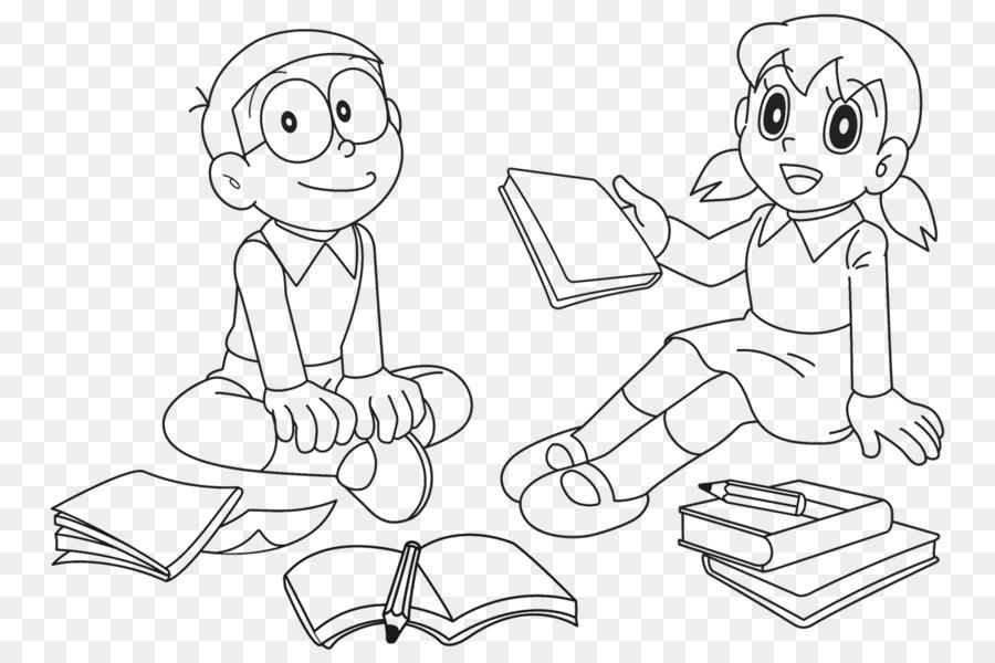 Drawing Doraemon Wii Shizuka Minamoto Coloring Book