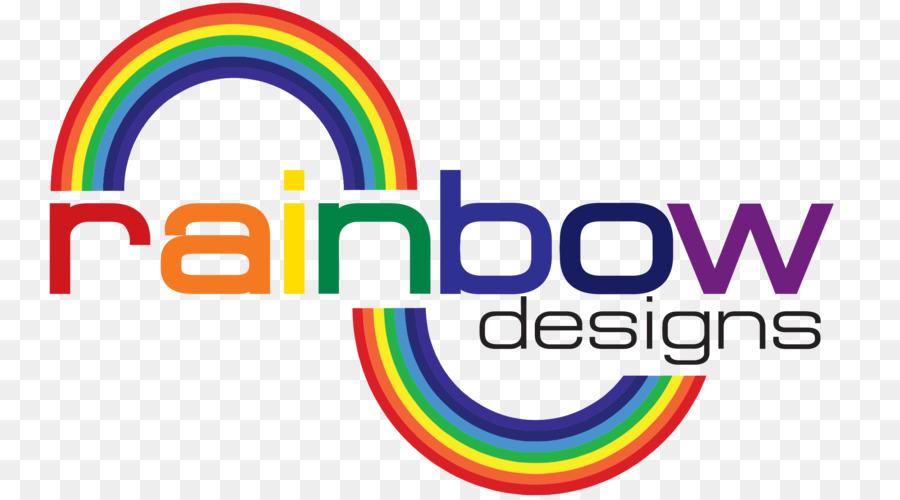 Rainbow Graphic Designer Logo