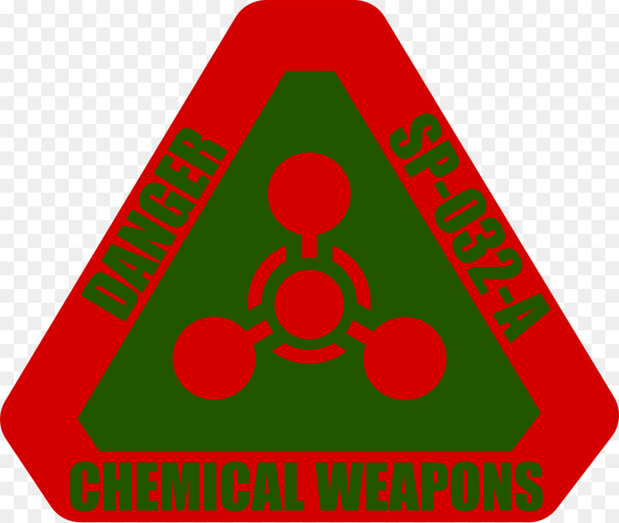 Chemical Weapon Sign Hazard Symbol Chemical Warfare Warning Sign