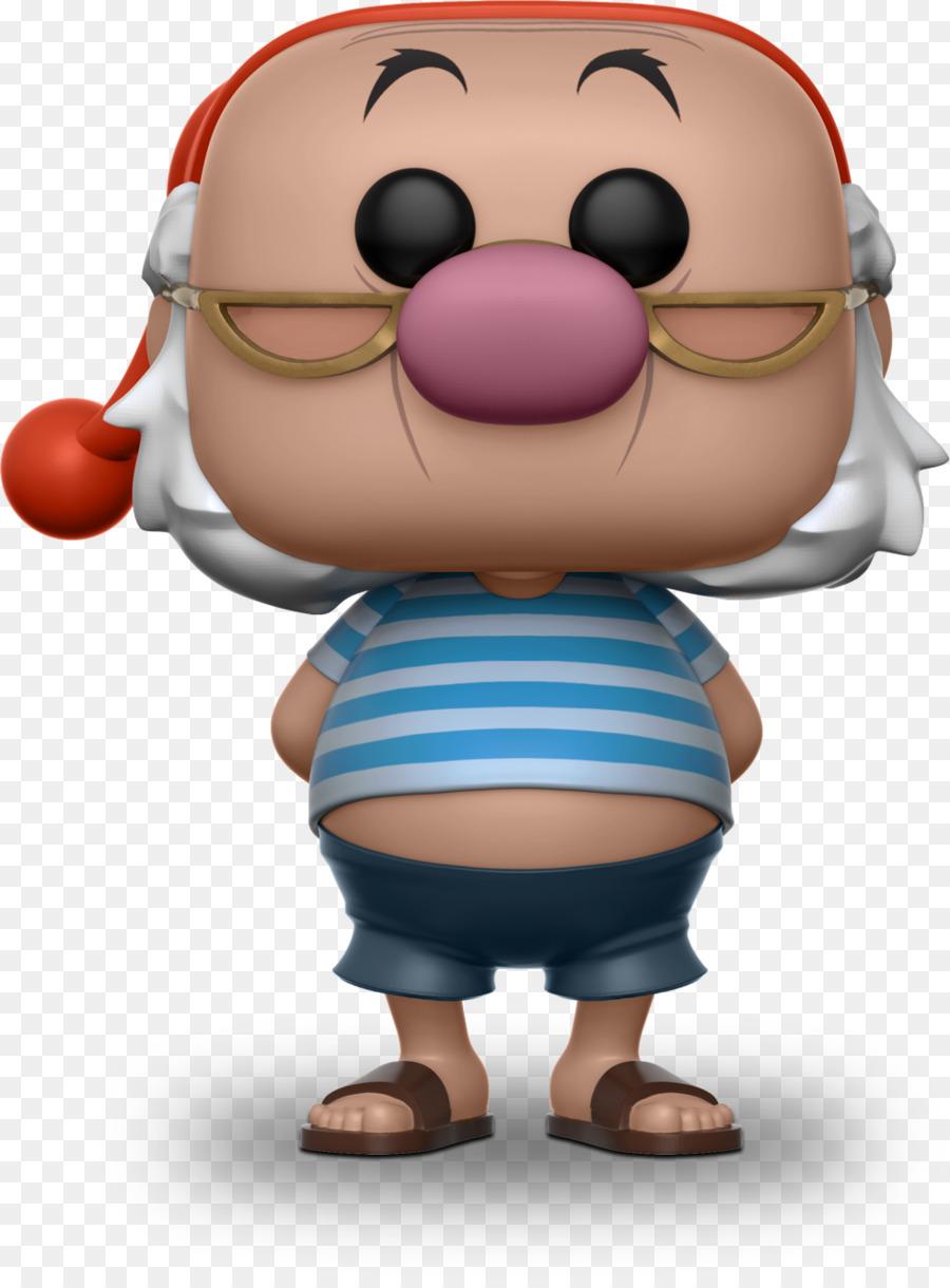 Smee Peter Pan Captain Hook Action Toy Figures Funko