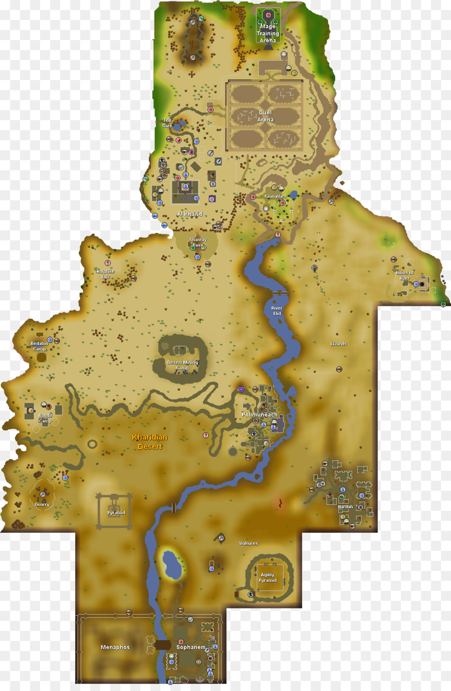 Old School RuneScape Map YouTube Wikia - old map png download - 1145 ...