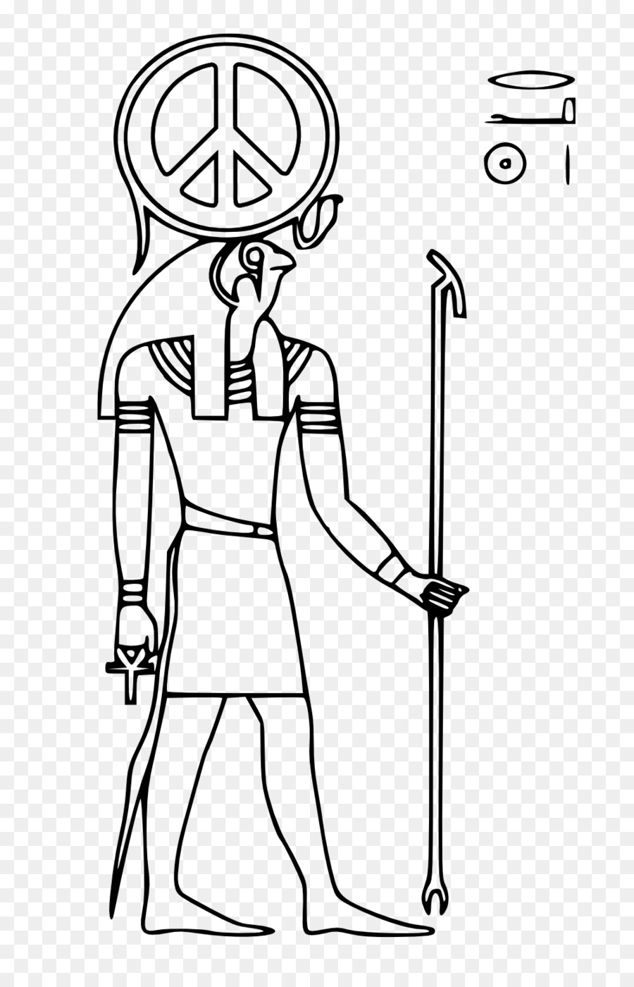 Ancient Egyptian Deities Peace Symbols Amun Ra Png Download 999