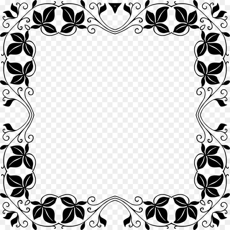 Marcos de fotos de la Plantilla de Clip art - ornamento marco ...