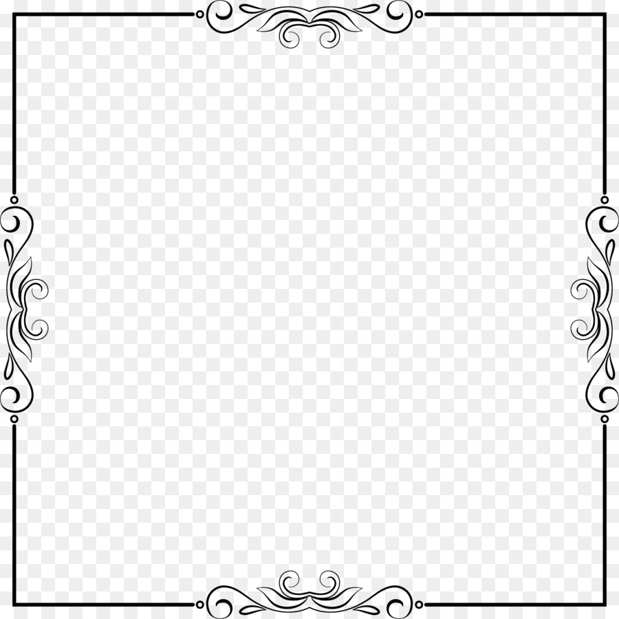 Picture Frames Line art Clip art - text box frame png download ...