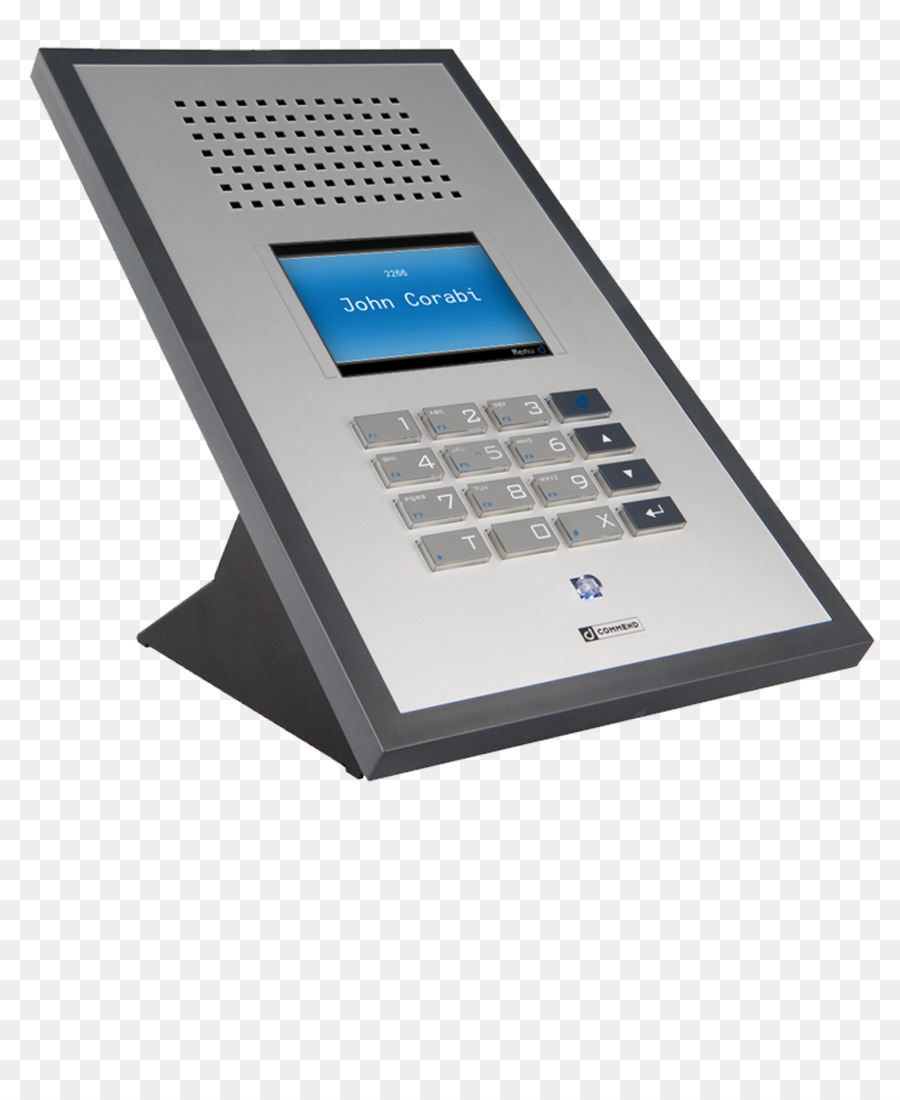 Intercom Telephone Loudspeaker Access Control Closed Circuit Caller Id Television Desk