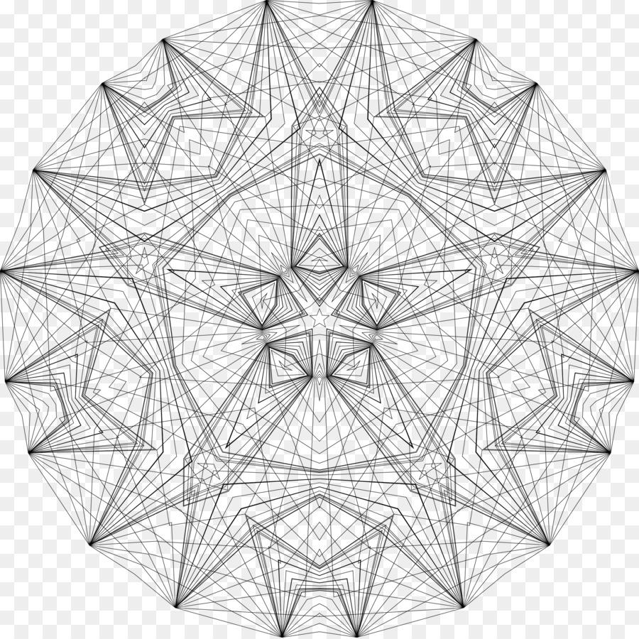 La geometría de la Línea de Dibujo en el arte de Colorear libro ...