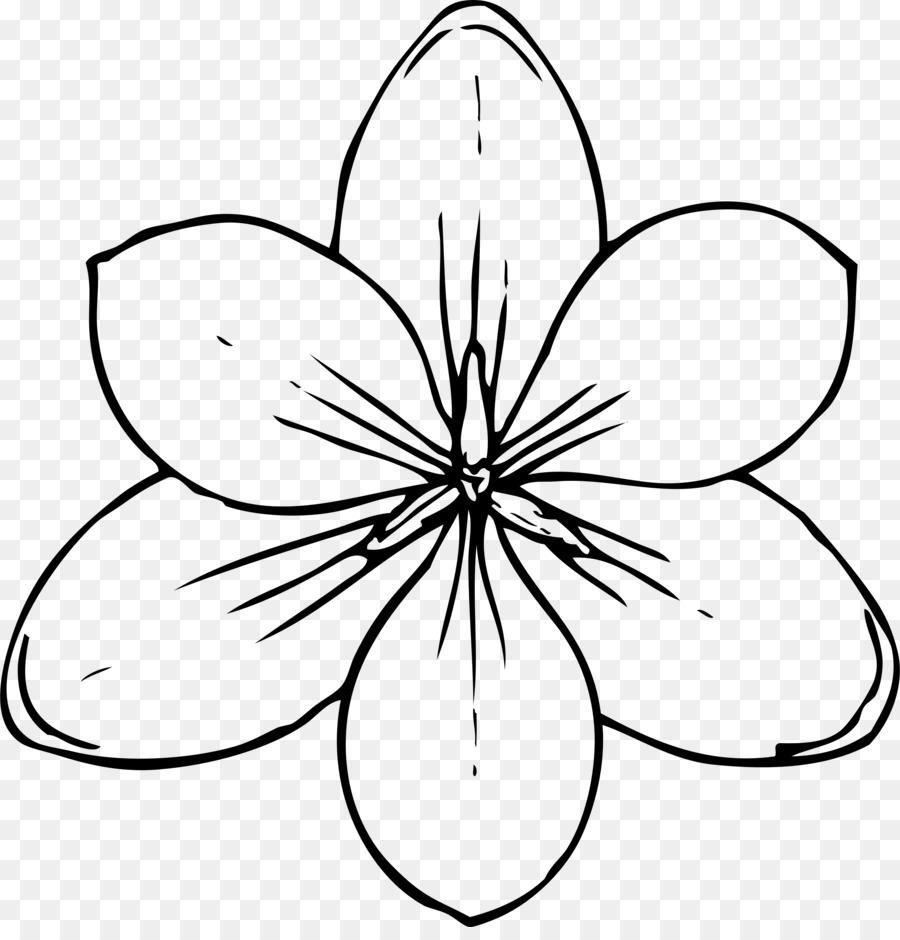 Boyama Kitabı çiçek Küçük Resim çiçek Png Indir 23302400