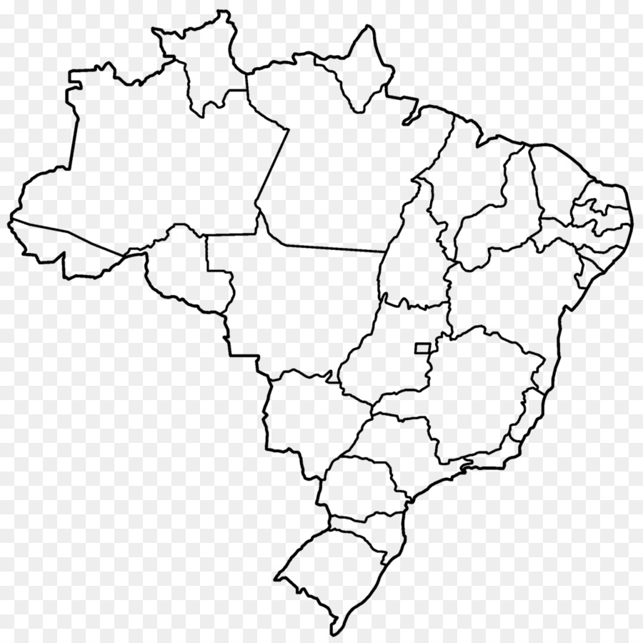 Brazil United States Blank map - uk map png download - 1024*1024 ...