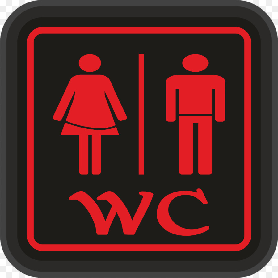 unisex public toilet bathroom sign wc png download 1024 1024