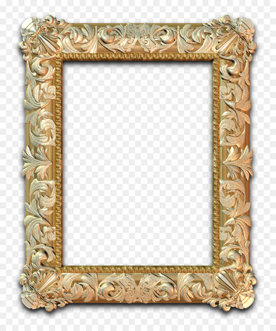 Picture Frames Art Photography Baroque Gold Frame Png