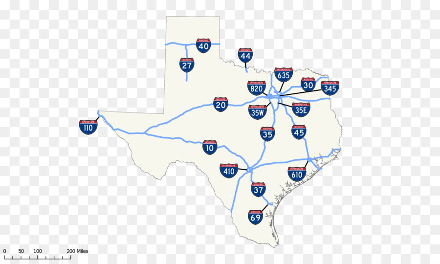 Texas state highway system US Interstate highway system Interstate ...