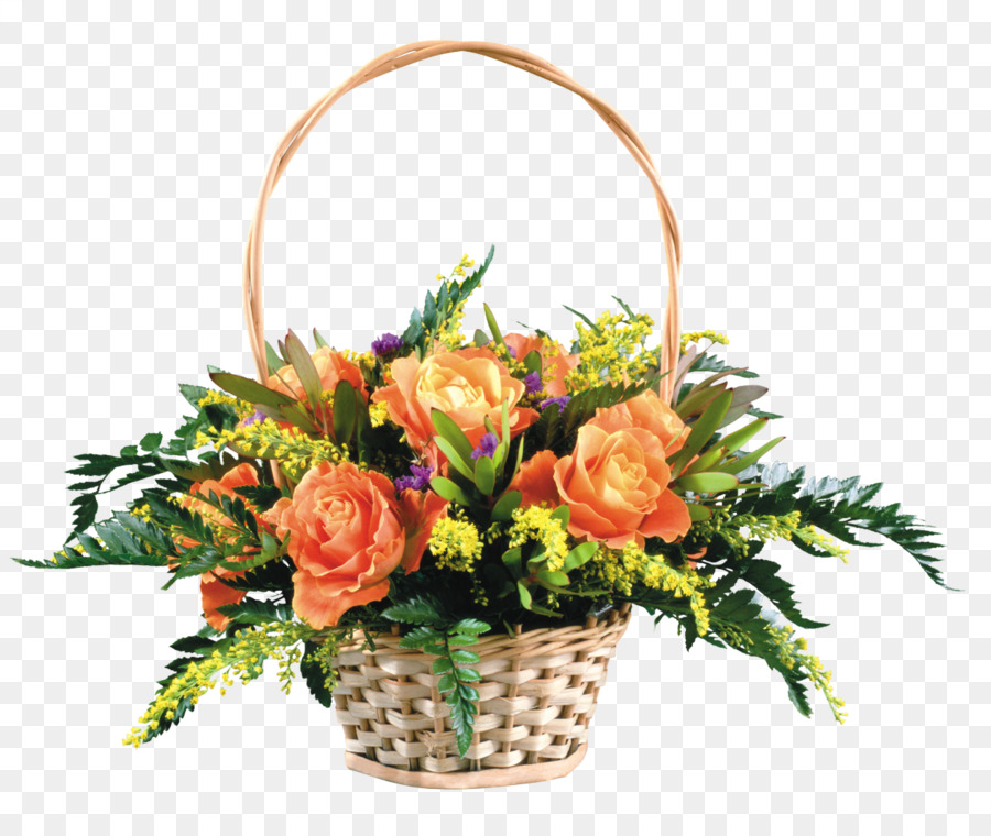 Birthday Flower bouquet Gift Basket Name day - bouquet of flowers ...